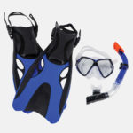 snorkels and fins at sports traders duncan bc